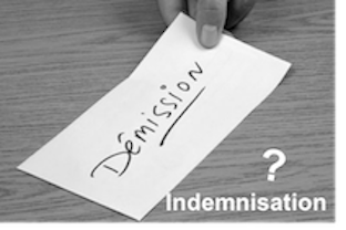 demission indemnisation